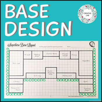 Superhero Base Design - Math - Area & Perimeter