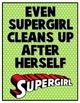 Superhero Bathroom Signs
