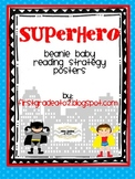 Superhero Beanie Decoding/ Comprehension Strategies Posters