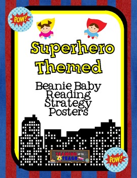 Superhero Beanie Decoding/Comprehension Strategy Posters