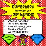 Superhero Beginning of Year Speech Bundle