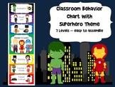 Superhero Behavior Chart
