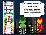 Superhero Behavior Chart