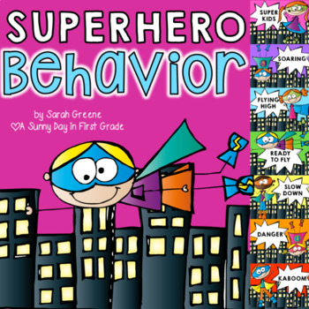 Superhero Behavior Chart!