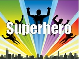 Superhero Behavior Chart and Labels