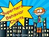 Superhero Behavior Charts