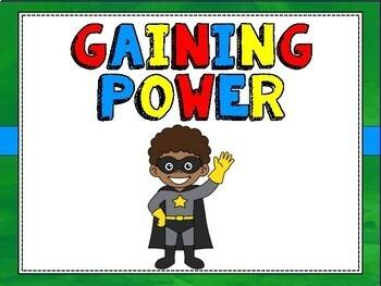 Superhero Theme Classroom Decor:  Behavior Clip Chart