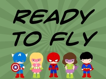 Superhero Behavior Clip Chart with Student Tracking Form