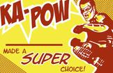 Superhero Behavior Incentive Cards