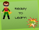 Superhero Behavioral Clip Chart page 3