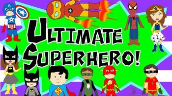 Superhero Behaviour Clip Chart