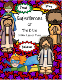 Superhero Bible Lesson