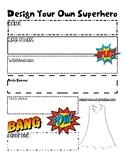 Superhero Biography Worksheet