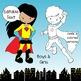 Superhero Birthday Board