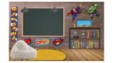 Superhero Bitmoji Classroom Template