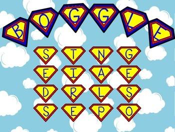 Superhero Boggle