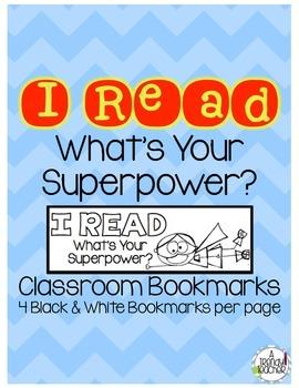 Superhero Book Marks