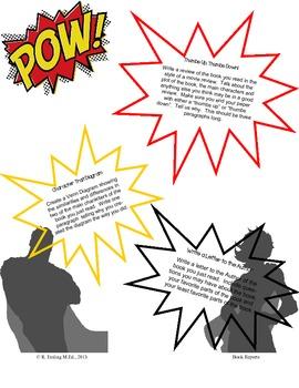 Superhero Book Reports