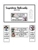 Superhero Bookmarks (Landscape and Portrait Edition)