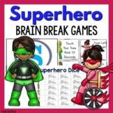 Superhero Brain Break Games With Movement