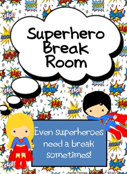Superhero Break Room