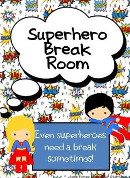 Superhero Break Room