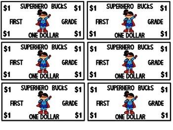 Superhero Bucks