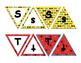 Superhero Bulletin Board Alphabet banners 2 designs, upper & lower case letters