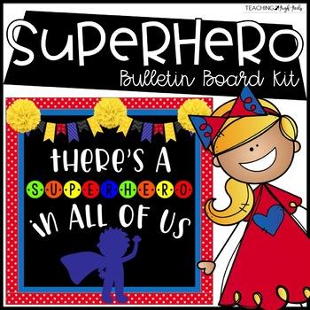 Superhero Bulletin Board Kit