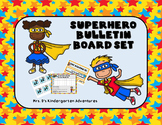 Superhero Bulletin Board Set