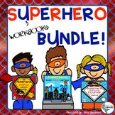 Back to School Alphabet, Sounds, Numbers! Superhero Bundle
