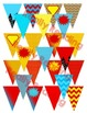 Superhero Bundle: Editable Posters, Pennants, and More!