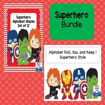 Super Hero  Bundle (PreK-K)