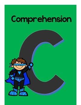 Superhero C.A.F.E signs