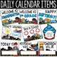 Superhero Calendar Set - Superhero Theme Classroom Decor