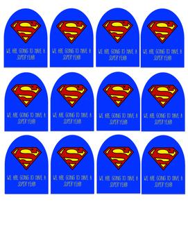 Superhero Capes for Suckers/lollipops