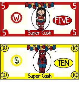 Superhero Cash ~ Incentive Dollars