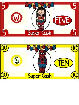 Superhero Cash ~ Incentive Dollars