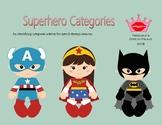 Superhero Categories