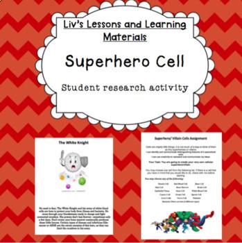 Superhero Cell Assignment