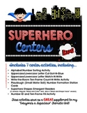 Superhero Centers - SUPER Center Activities for Beginning