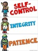 Superhero Character Trait Printables