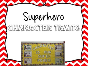 Superhero Character Traits and Pledge