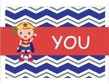 Superhero Choice Poster