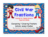 Superhero Civil War Fractions