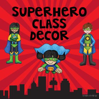 Superhero Class Decor