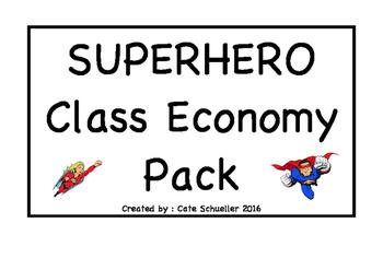 Superhero Class Economy Pack