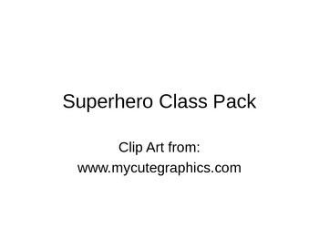 Superhero Class Pack