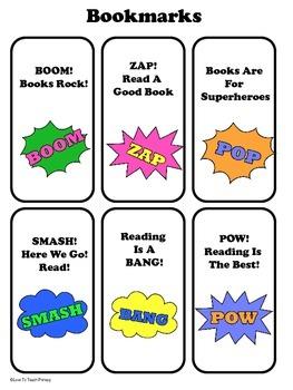 Superhero Classroom