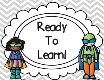 Superhero Classroom Behavior Chart